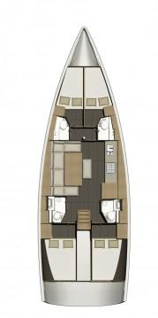 Rental Sailboat in Lávrio - Dufour Dufour 460 Grand Large