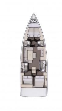Boat rental Šibenik cheap Dufour 470 - 5 cab.