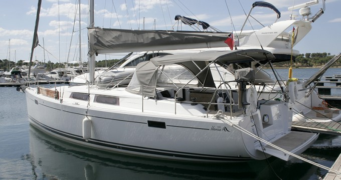 Boat rental Šibenik cheap Hanse 385
