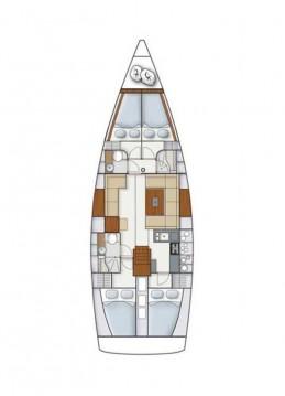 Boat rental Hanse Hanse 445 in Šibenik on Samboat