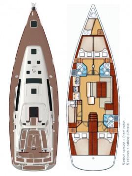 Bénéteau Oceanis 50 between personal and professional Šibenik
