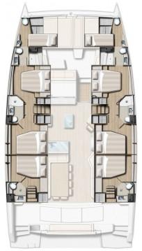 Rental Catamaran in Rogoznica - Catana Bali 5.4 - 6 + 2 cab.