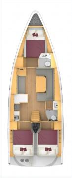 Rental yacht Biograd na Moru - Bavaria Bavaria C42 on SamBoat