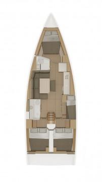 Rental yacht Biograd na Moru - Dufour Dufour 430 GL on SamBoat