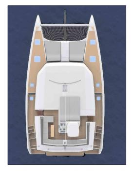 Rental Catamaran in Rogoznica - Dufour Dufour 48 Catamaran - 5 + 1 cab.