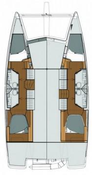 Boat rental Trogir cheap Lucia 40