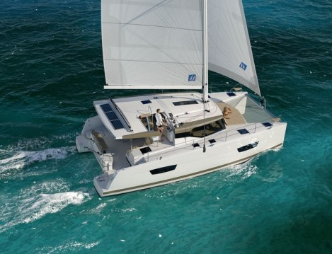 Fountaine Pajot Lucia 40 between personal and professional Trogir