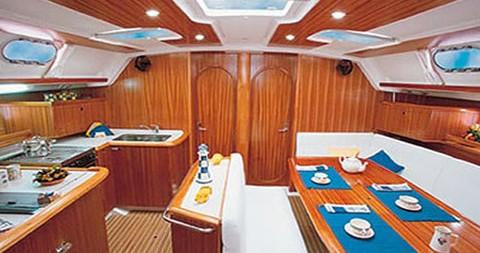 Boat rental Trogir cheap Gib Sea 51
