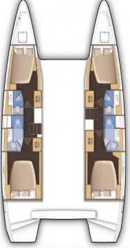Boat rental Biograd na Moru cheap Lagoon 42