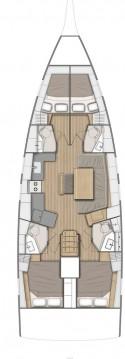 Boat rental Šibenik cheap Oceanis 46.1