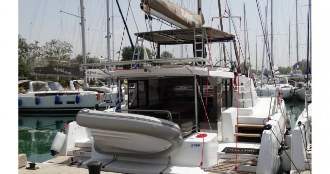 Rental Catamaran in Lefkada (Island) - Catana Bali 4.1 - 4 + 2 cab.