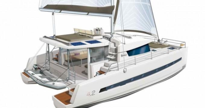 Rental Catamaran in Lefkada (Island) - Catana Bali 4.2