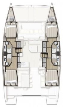 Rental Catamaran in Deme of Volos - Catana Bali 4.3 - 4 + 2 cab.