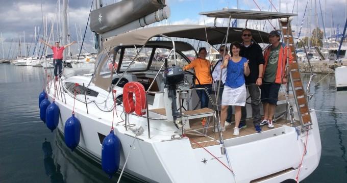 Rental yacht Alimos - Jeanneau Jeanneau 54 on SamBoat
