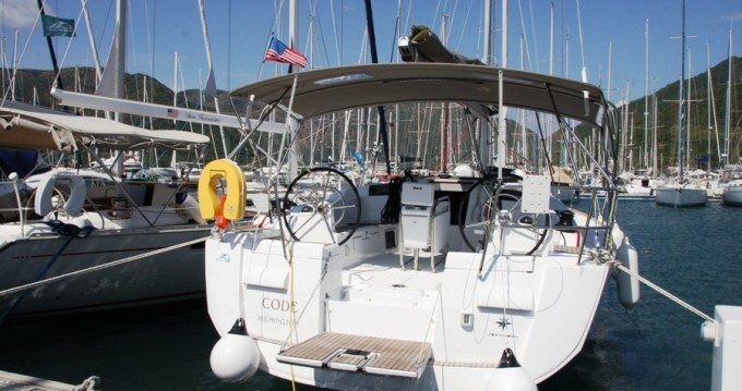 Rental Sailboat in Marmaris - Jeanneau Sun Odyssey 439 - 3 cab.