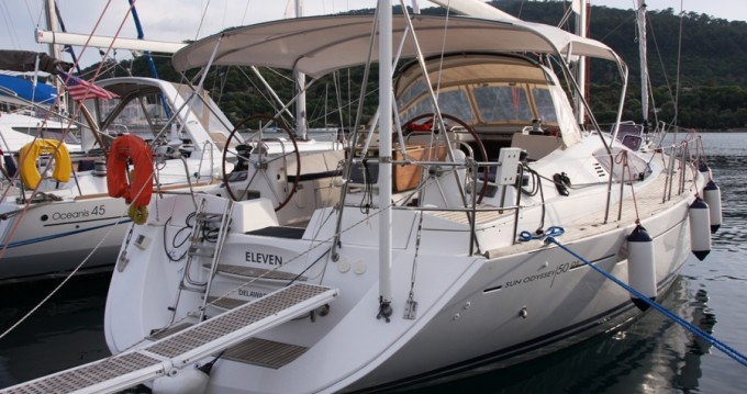 Rental yacht Marmaris - Jeanneau Sun Odyssey 50 DS on SamBoat