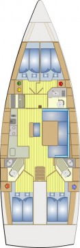 Rental Sailboat in Lefkada (Island) - Bavaria Cruiser 46
