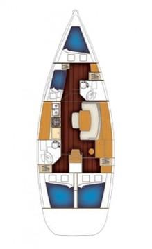 Rental yacht Lefkada (Island) - Bénéteau Cyclades 43.4 on SamBoat