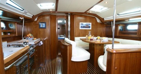 Boat rental Lefkada (Island) cheap Sun Odyssey 49