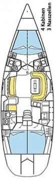 Rental yacht Alimos - Jeanneau Sun Odyssey 49 DS on SamBoat