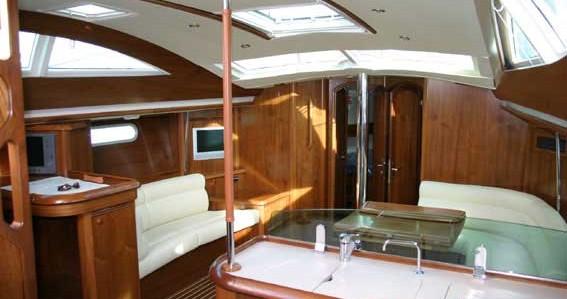 Boat rental Alimos cheap Sun Odyssey 49 DS