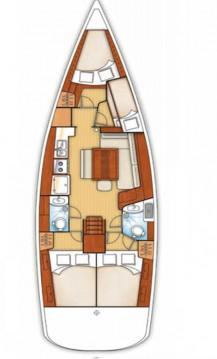 Rental yacht Fethiye - Bénéteau Oceanis 43 on SamBoat