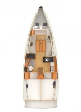 Jeanneau Sun Odyssey 349 between personal and professional Punat