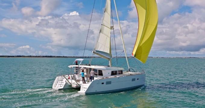 Catamaran for rent Alimos at the best price