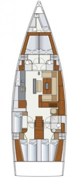 Boat rental Pula cheap Hanse 575