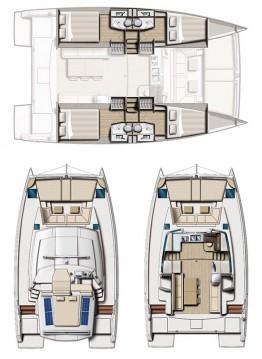 Rental Catamaran in Komolac - Catana Bali 4.0 - 4 cab.