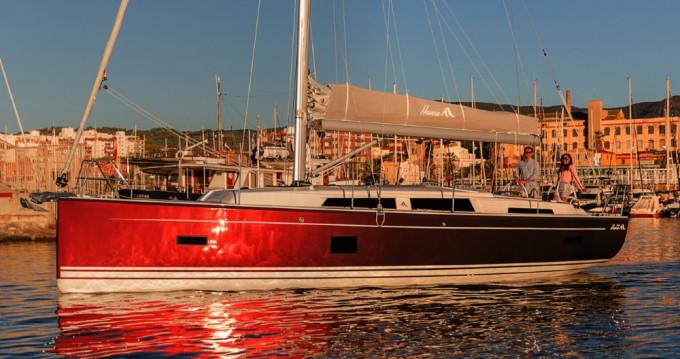 Rental yacht Kaštela - Hanse Hanse 388 on SamBoat