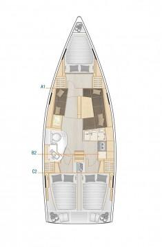 Rental Sailboat in Biograd na Moru - Hanse Hanse 388