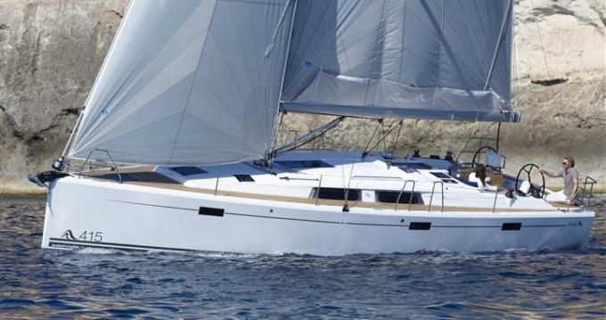 Rental Sailboat in Biograd na Moru - Hanse Hanse 415