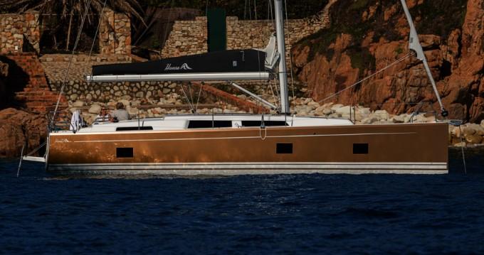 Boat rental Kaštela cheap Hanse 418