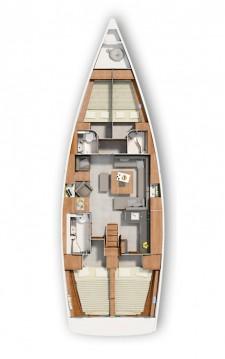 Boat rental Kaštela cheap Hanse 455