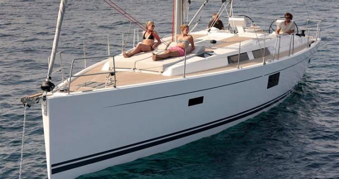 Rental yacht Biograd na Moru - Hanse Hanse 455 on SamBoat