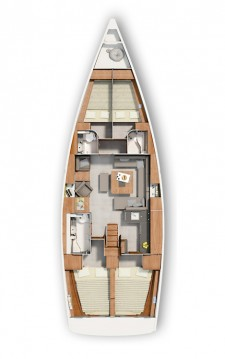 Rental Sailboat in Biograd na Moru - Hanse Hanse 455