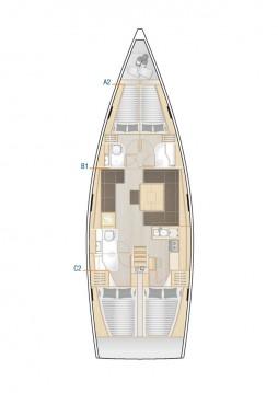 Rental Sailboat in Lávrio - Hanse Hanse 458