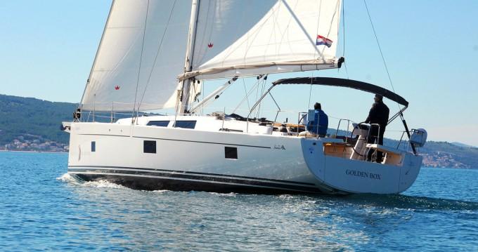 Boat rental Kaštela cheap Hanse 508