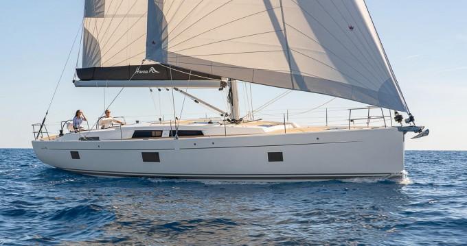 Rental Sailboat in Komolac - Hanse Hanse 508