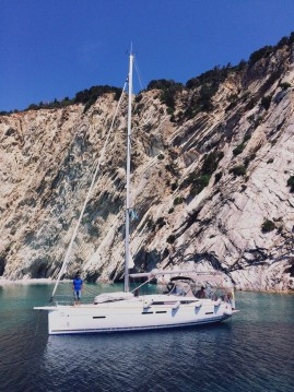 Jeanneau Sun Odyssey 419 between personal and professional Lefkada (Island)