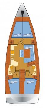 Rental Sailboat in Can Pastilla - Bénéteau Oceanis 45