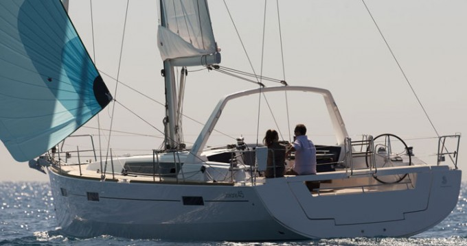 Bénéteau Oceanis 45 between personal and professional Can Pastilla