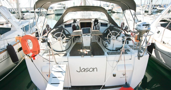 Jeanneau Sun Odyssey 439 between personal and professional Can Pastilla