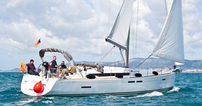 Boat rental Can Pastilla cheap Sun Odyssey 439