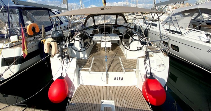 Rental Sailboat in Can Pastilla - Jeanneau Sun Odyssey 519