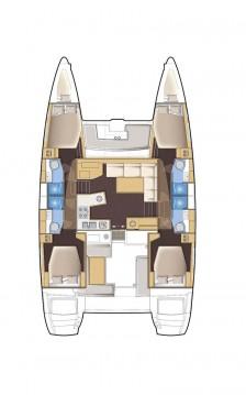 Rental yacht Alimos - Lagoon Lagoon 450 on SamBoat