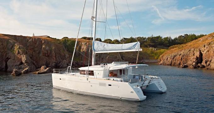 Boat rental Alimos cheap Lagoon 450
