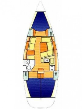 Sailboat for rent Nikiána at the best price