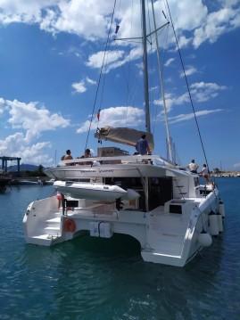Boat rental Dufour Dufour 48 Catamaran - 5 + 1 cab. in Marina di Portorosa on Samboat